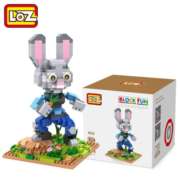 LOZ 4 Styles Zootopia D action Jouet Lapin Judy Hopps Renard Nick Wilde Paresse Flash Film 1 311e3f37 c738 4fcc ad66 6c820f3c51fd Figurine Lego Zootopie (4 Personnages) - Livraison Gratuite !