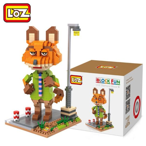 LOZ 4 Styles Zootopia D action Jouet Lapin Judy Hopps Renard Nick Wilde Paresse Flash Film 2 2f2dd6fa 8a38 4614 a6bb 406c7923ba3f Figurine Lego Zootopie (4 Personnages) - Livraison Gratuite !