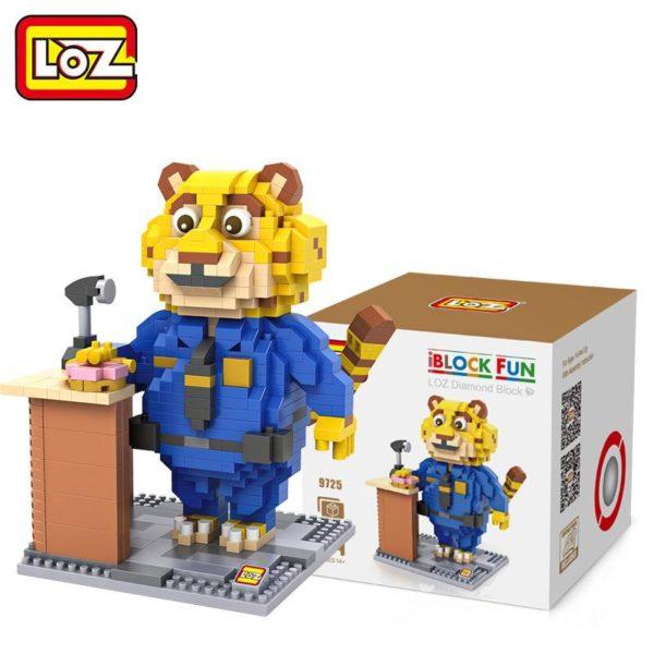 LOZ 4 Styles Zootopia D action Jouet Lapin Judy Hopps Renard Nick Wilde Paresse Flash Film 4 5a3252aa faba 4a59 93c6 689f0da2abb3 Figurine Lego Zootopie (4 Personnages) - Livraison Gratuite !