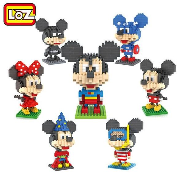 LOZ Blocs de Construction Superman Batman Magicien Plongeur Captain America Mickey et Minnie Jouets pour Enfants.jpg 640x640 bf9c8394 77bc 45d6 bcfe c514cdb8a4ef Figurine Lego Mickey Mouse (10 Modèles) - Livraison Gratuite !