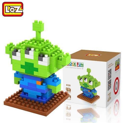 LOZ Toy Story Woody Buzz lightyear Jessie Jouet Modele action Figure Blocs de Construction 9 Cadeau 2 eaceaef7 36d1 4cb0 9f38 4c3549a55af5 Figurine Lego Toy Story (5 Personnages) - Livraison Gratuite !