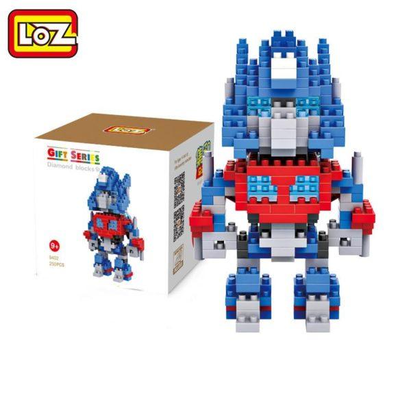 LOZ Transformation Robot Chiffres Jouets Optimus Prime Bumblebee Cadeau De No euml 2 c4811d48 658c 4e44 bae2 543e5d62f5a8 Figurine Lego Transformers Loz (4 Robots) - Livraison Gratuite !