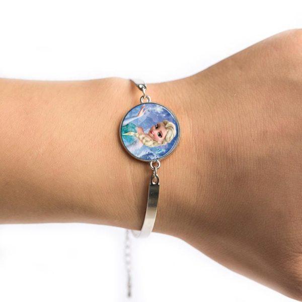 Le plus chaud Classique de bande dessinee d anime Reine Elsa Anna bracelet jolie Neige Reine 2 30fd6249 581b 4e5a 801b 35041d055966 Bracelet La Reine Des Neiges (6 Modèles) - Livraison Gratuite !