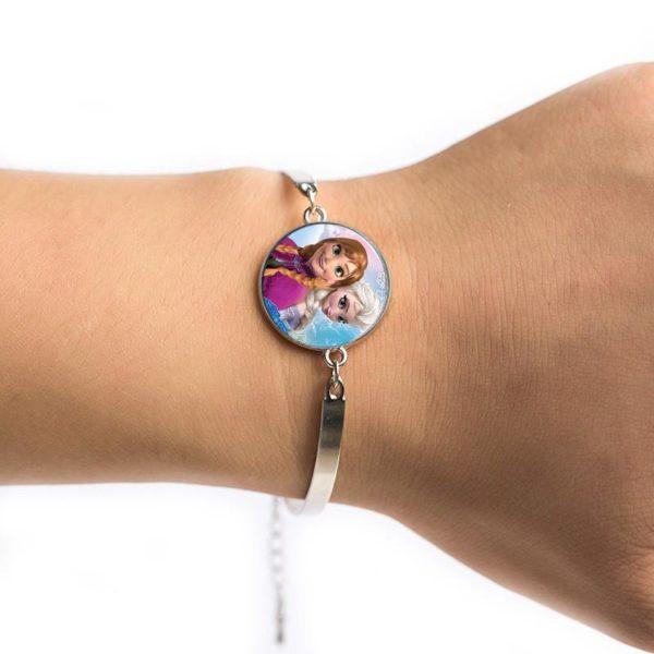 Le plus chaud Classique de bande dessinee d anime Reine Elsa Anna bracelet jolie Neige Reine 3 534be0e8 1cc7 4bb8 bddc 38f50c6fdebb Bracelet La Reine Des Neiges (6 Modèles) - Livraison Gratuite !
