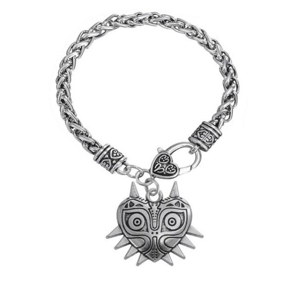 Legende de Zelda majora Masque Fantaisie Fonce Force 20mm Snaps Hommes Bracelets 2016 Bracelet Manchette.jpg 640x640 00f81b55 a397 4d9c a11e 9d29fed824aa Bracelet The Legend Of Zelda Majoras Mask En Argent Tibétain - Livraison Gratuite !