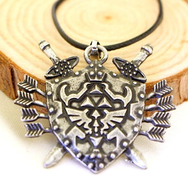 Livraison gratuite pour 1 Pcs hommes bijoux Medal Of Honor Legend Of Zelda Triforce collier populaire a6fccb24 446d 4224 b54e 43afcb326a5e Collier Triforce Bouclier Millésime Corde En Cuir - Livraison Gratuite !