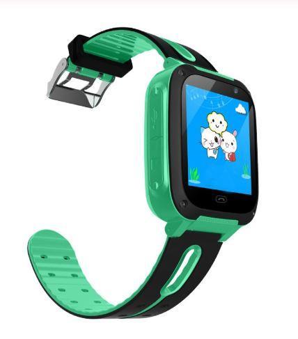 Montre De Sécurité Pour Enfants - Position GPS Raton Malin Vert