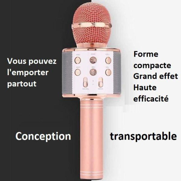M2 b258f9fa 7ae9 4f81 be0c 21875797b3c2 Micro Karaoké Sans Fil - Fonction Bluetooth