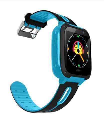 Montre De Sécurité Pour Enfants - Position GPS Raton Malin Bleu