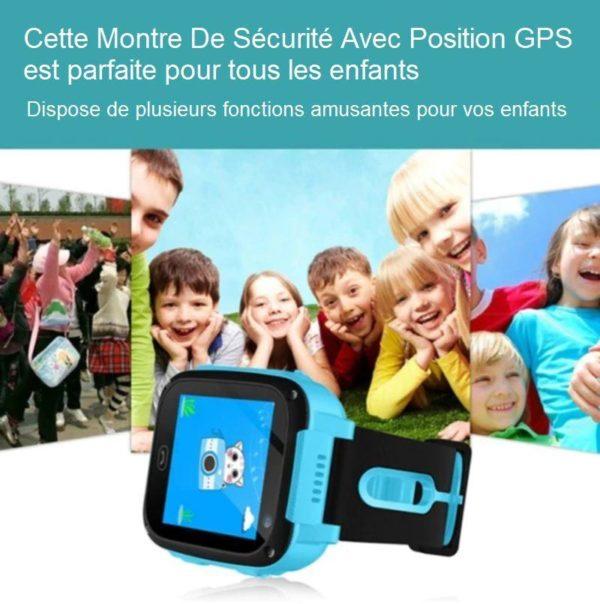 MM3 Montre De Sécurité Pour Enfants - Position Gps