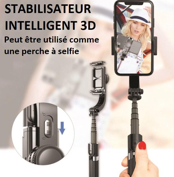 MO1 Stabilisateur Intelligent 3D Pour Smartphone