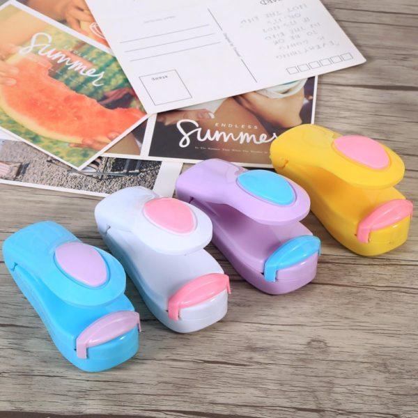 MiniScellantpourSacs Un Mini Scelleur Compatible Avec Tous Les Sac Plastiques