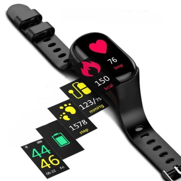 Montre intelligente Wearbuds, La Meilleure Montre Connectée Écouteur Bluetooth