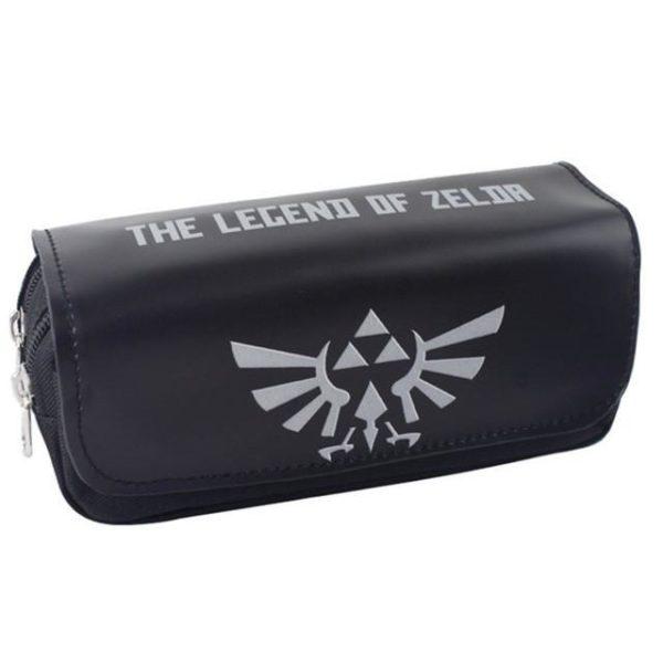 NEWTALL Legend of Zelda Bouclier Noir Crayon Cas de Grande Capacite Organisateur Magique Baton Couverture.jpg 640x640 f3cf17f6 8d95 488e 8d78 0b364c85abd1 Trousse The Legend Of Zelda - Livraison Gratuite !