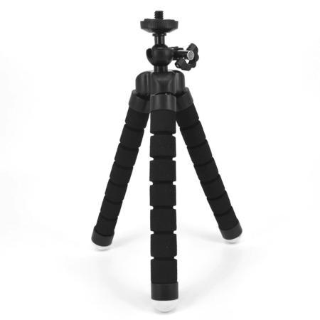 NOIR 2 20db24c1 fc63 4518 bc70 3db8bce00c90 Trépied Flexible : Le Dispositif Idéal Pour Des Selfies De Folie !