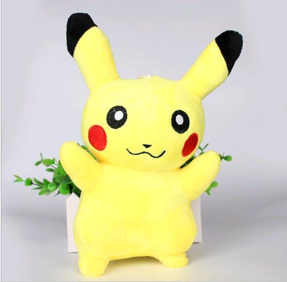 NOUVEAU 2017 VENTE CHAUDE bebe enfants jouet Pikachu en peluche poupees Haute qualite Tres Mignon Pokemon 1 c63f90ed da1e 469e 8035 10d83f730692 Peluche Pokemon Pikachu 21 Cm (2 Modèles) - Livraison Gratuite !