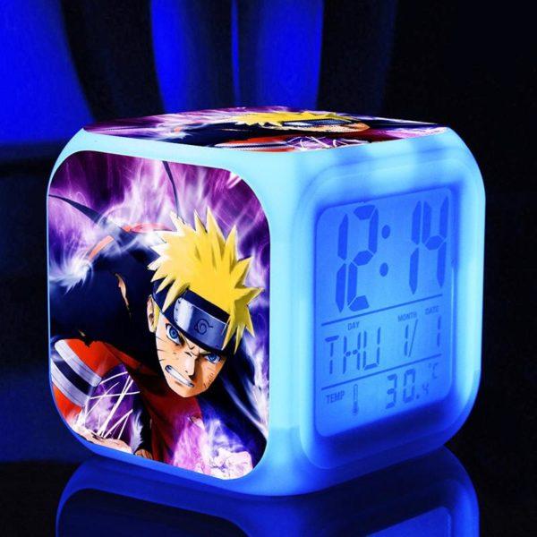 Naruto poup eacute 2fe4495c ba70 4aac 8d20 76e78e81012a Horloge/Réveil/Thermomètre Numérique Naruto À 7 Couleurs - Livraison Gratuite !