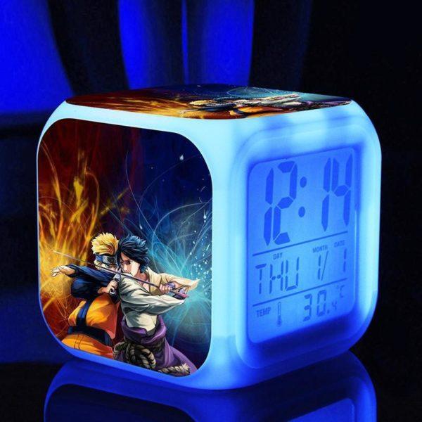 Naruto poupees 7 Couleurs Changement Numerique naruto kunai Thermometre Nuit Reveil naruto action figure jouets chaude 1 e477d1d6 c49e 43af 9a9d 89bd02560b3f Horloge/Réveil/Thermomètre Numérique Naruto À 7 Couleurs - Livraison Gratuite !
