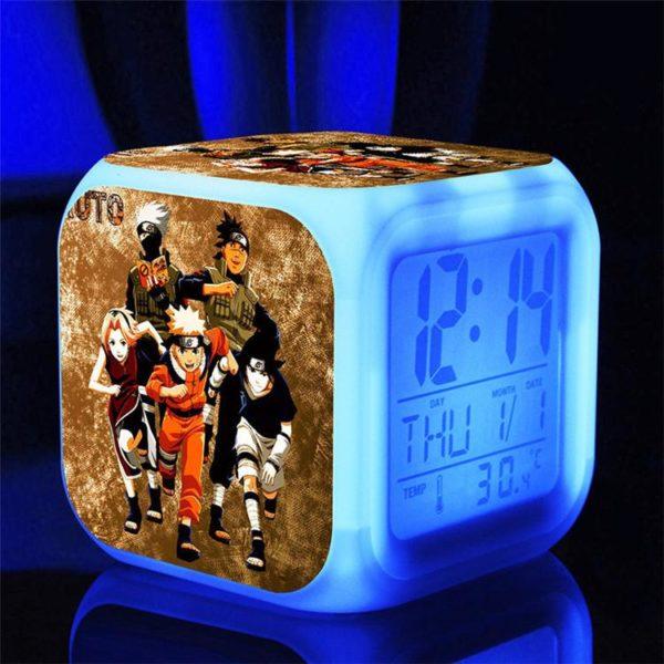 Naruto poupees 7 Couleurs Changement Numerique naruto kunai Thermometre Nuit Reveil naruto action figure jouets chaude 2 f3217866 cca1 47a4 827c 20dff84a8909 Horloge/Réveil/Thermomètre Numérique Naruto À 7 Couleurs - Livraison Gratuite !