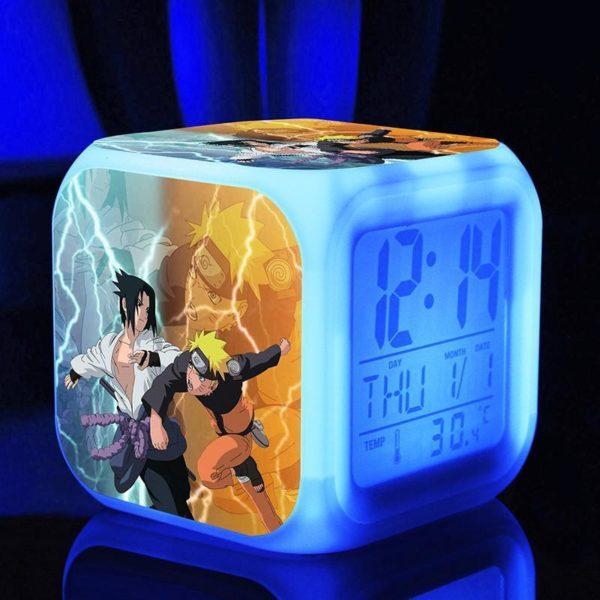 Naruto poupees 7 Couleurs Changement Numerique naruto kunai Thermometre Nuit Reveil naruto action figure jouets chaude 3 20640b95 1af9 4b81 ad50 7bdae39c7bb4 Horloge/Réveil/Thermomètre Numérique Naruto À 7 Couleurs - Livraison Gratuite !