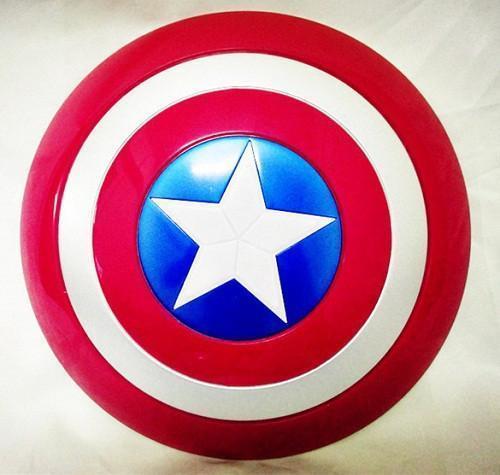 New Super Hero Avenger Marvel Captain America Shield enfants jouets cadeau pour Cosplay livraison gratuite SA318.jpg 640x640 52fb65ad 7cce 4d65 8e6c 9babde048352 Bouclier Marvel The Avenger Capitaine América Cosplay - Livraison Gratuite !