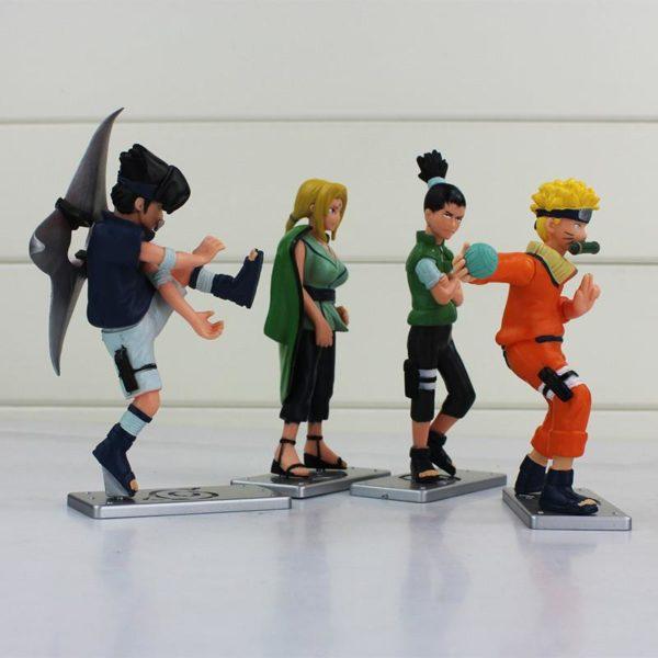 Nouveau 4 pcs lot Naruto Uzumaki Naruto Tsunade Uchiha Sasuke Nara Shikamaru PVC Figurines Collection Mod egrave b1f84da0 5a28 4d8d b16f 7c8807028170 1 Lot De 4 Figurines Uzumaki Tsunade Uchiha Sasuke Nara Shikamaru Naruto - Livraison Gratuite !