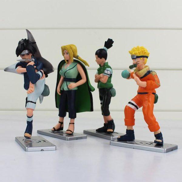 Nouveau 4 pcs lot Naruto Uzumaki Naruto Tsunade Uchiha Sasuke Nara Shikamaru PVC Figurines Collection Modele.jpg 640x 18ab5d2a 71cd 4b0a 85c9 133aac7690cd 1 Lot De 4 Figurines Uzumaki Tsunade Uchiha Sasuke Nara Shikamaru Naruto - Livraison Gratuite !