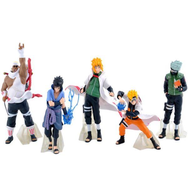 Nouveau Arrivent 5 Pcs ensemble Naruto Action Figure Classique Jouets Cool Naruto Kakashi Sasuke Uzumaki Figure 0f8925bf 195c 4b98 9e2c 2639d881309b 1 Lot De 5 Figurines Naruto (12 Cm) - Livraison Gratuite !