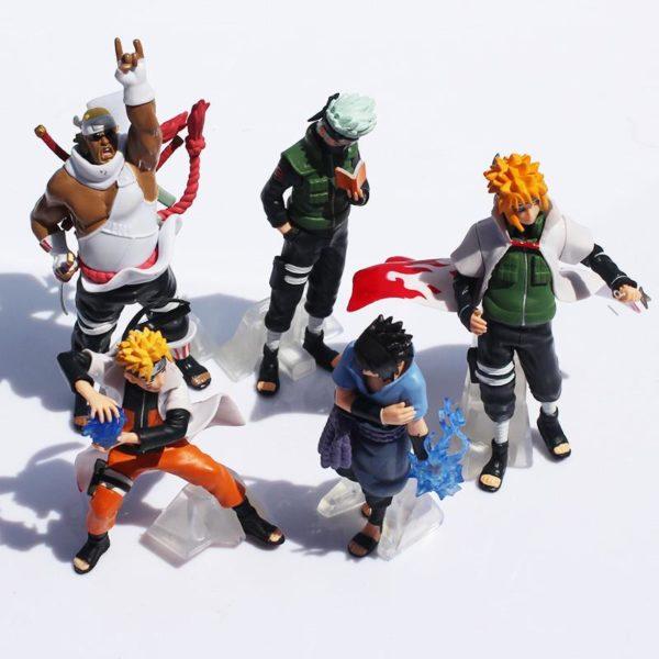 Nouveau Arrivent 5 Pcs ensemble Naruto Action Figure Classique Jouets Cool Naruto Kakashi Sasuke Uzumaki Figure 1 57871aa0 de28 4623 9478 fc15bec797f0 1 Lot De 5 Figurines Naruto (12 Cm) - Livraison Gratuite !