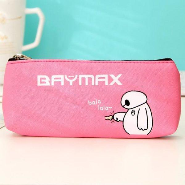 Nouveaute Kawaii Big Hero 6 Le Baymax Pu Crayon En Cuir Cas Sac De Stockage De 1 51d39c02 30b3 4625 b807 df5b05fdf94f Trousse Baymax (4 Couleurs) - Livraison Gratuite !