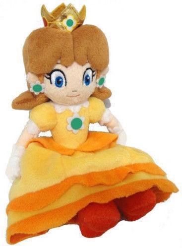 Nouveaux Jouets En Peluche Super Mario Bros Peluche Princesse Peach Daisy 7 pouces Doux Poup eacute Peluche Princesse Daisy (18 Cm) Super Mario Bros. - Livraison Gratuite !