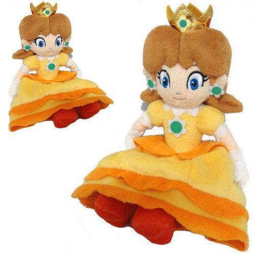 Nouveaux Jouets En Peluche Super Mario Bros Peluche Princesse Peach Daisy 7 pouces Doux Poupee Jouet.jpg 640x640 4407fd0d e910 401a 85d2 79690c6b14ac Peluche Princesse Daisy (18 Cm) Super Mario Bros. - Livraison Gratuite !