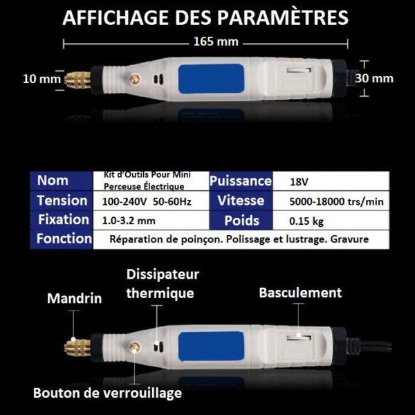 O3 93d43dff 2f58 4b5f 8021 aa66f31ac708 Kit D'outils Pour Mini Perceuse Électrique