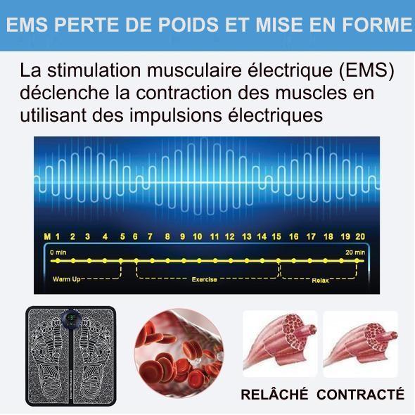 P21 Masseur De Pieds Ems Electrique - Massageplus™