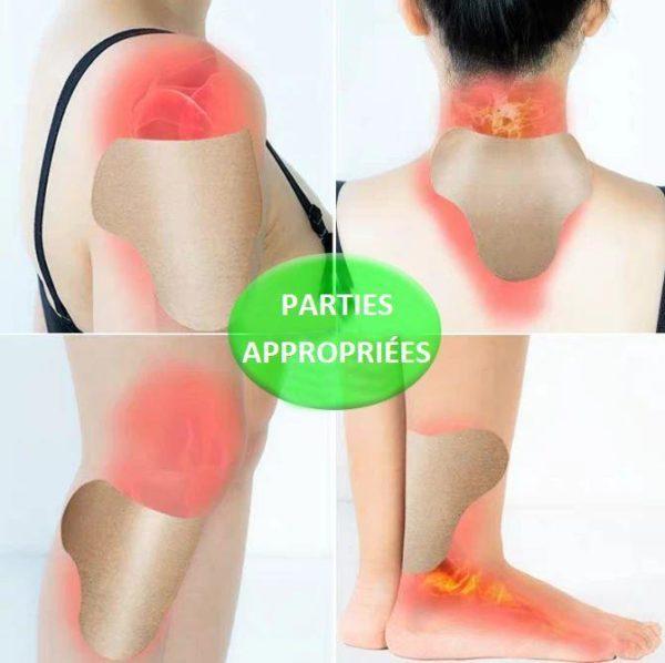 P2copy Patchs De Soulagement Des Douleurs Articulaires