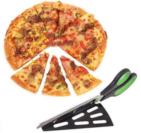 Ciseaux à Pizza raton-malin Vert