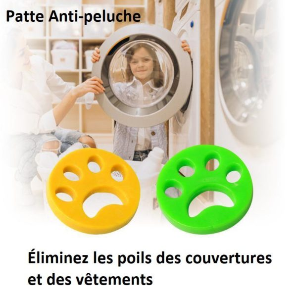 P6 42b8e55b 7b37 44e9 98a7 ae5e93a3c545 Anti Poil Machine À Laver - Patte Anti-Peluche