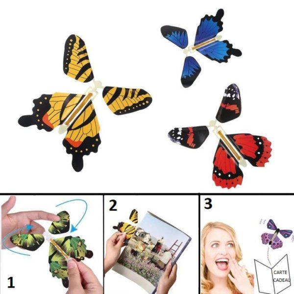 P7 5e1a7230 729a 4c53 80f7 5f917f6b99ba Papillons Magiques (Lot De 6)