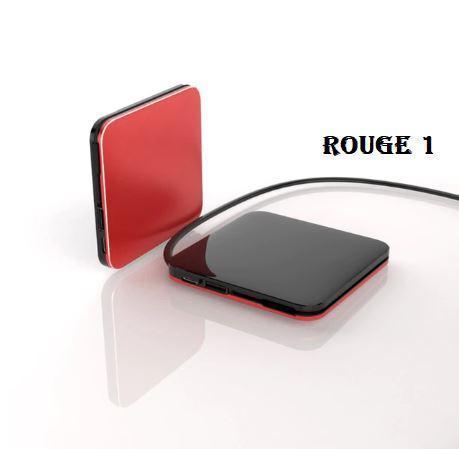 PB7 Mini Power Bank 8000Mah Conception Légère Pour Iphone, Samsung Galaxy Et Plus