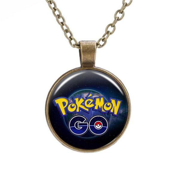 PCMOS 2016 Fashion Anime Pokemon Go 6b18bb87 d372 4558 9103 b81175ad6539 Collier Team Pokémon Go Cabochon En Verre - Livraison Gratuite !