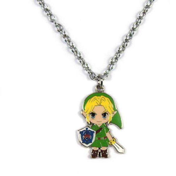 PCMOS 2017 Anime The Legend of Zelda Lien Apporter Eacute 1 4974f044 398e 418e 9177 3c7c4671902a Collier Couleur Argentée À Pendentif Zelda - Livraison Gratuite !