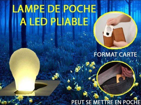 PHOTO 1 1e8d6515 eff8 49ee 9583 fc1f0c272f9c Lampe De Poche À Led Pliable