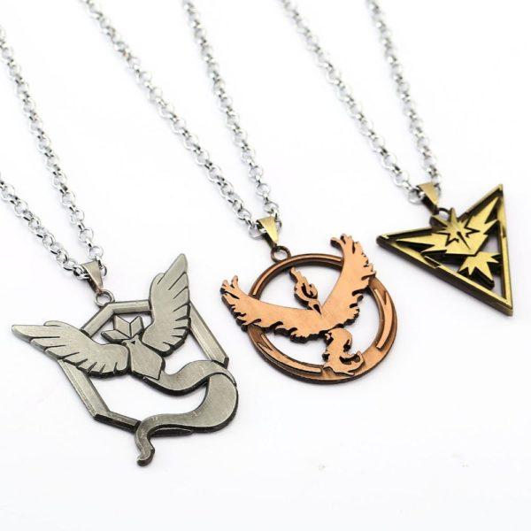 Pokemon Go Necklace Valor Mystic Instinct Pendant Friendship Gift Men Women Game Choker Jewelry Accessories YS11835 Collier Team Pokemon Go En Couleur - Livraison Gratuite !
