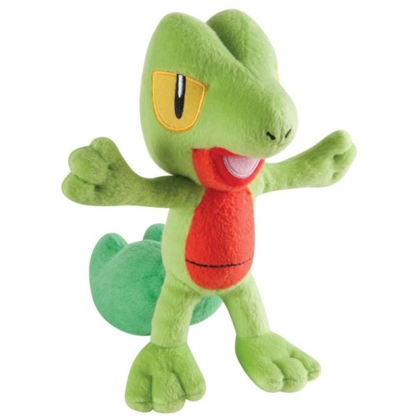 Pokemon Small Plush Treecko Quality goods Soft Stuffed Plush Toy Free Shipping 63688bff 0919 41ac a009 deedaa93d232 Peluche Pokemon Arcko (20 Cm) - Livraison Gratuite !