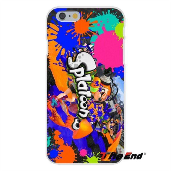 Pour iPhone 4 4S 5 5C SE 6 6 S 7 Plus Silice doux Gel TPU 2 e8c70f27 03ca 4b25 9f2c 01f7cce485d9 Coque Splatoon Inkling Squid Pour Iphone (4 Illustrations) - Livraison Gratuite !