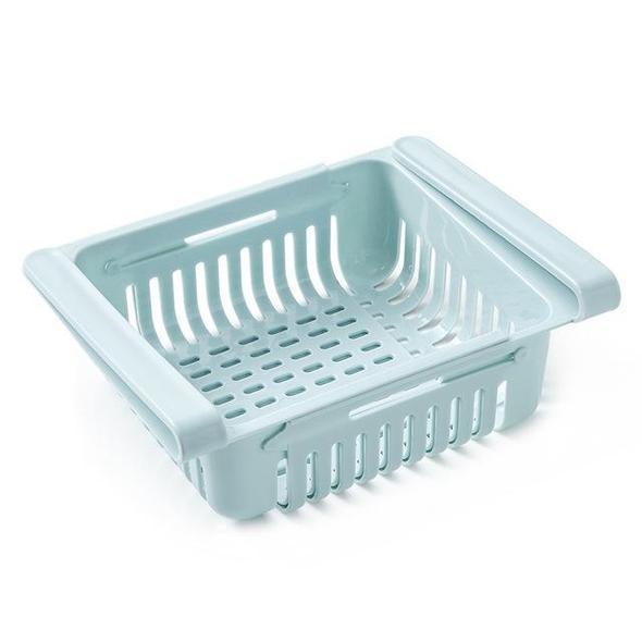 Boîte De Rangement Pour Réfrigérateur Raton Malin Bleu