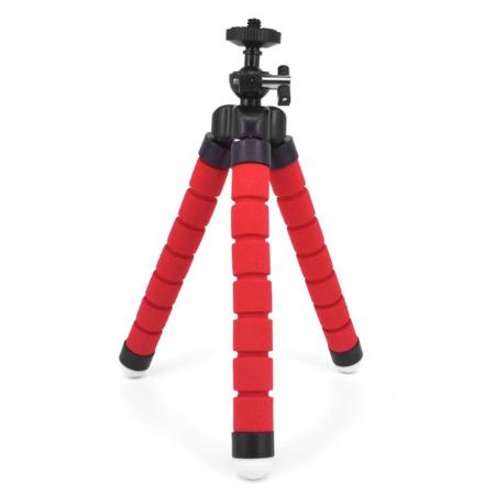 ROUGE 964974bb acec 4abf b2ff 3dbe3425bc72 Trépied Flexible : Le Dispositif Idéal Pour Des Selfies De Folie !