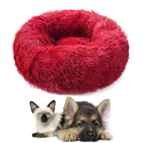 Rouge 36df0fd9 43d8 48e2 b7ff 52b64f3eb20a Le Coussin Relaxant Anti-Stress Pour Chien Et Chat