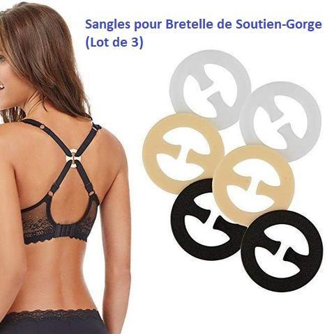 S1 Sangles Pour Bretelles De Soutien-Gorge (Lot De 3)