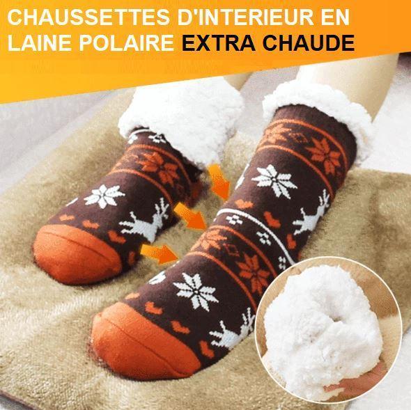 S1 181fa438 5d16 4aa5 b6e1 18f1e4e6eb0d Chaussettes D'intérieur En Laine Polaire Extra Chaude